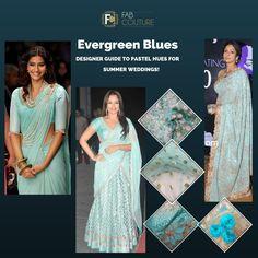 Go for pastel hues this summer wedding! #designerguide #fabcouture #designerfabrics #pastelcolours #blue #coolblue #gorgeous http://wp.me/p6qlgO-4J