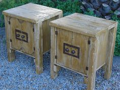 """(RS 1) Cute Rustic Barn Multifunctional Rustic Cabinet / Side Table. Choice between 1 or 2 doors Dimensions L510 x W460 x H640mm. Price R1450 Each Can be ordered in the dimensions and colours of your choice and in """"rustic"""", """"whitewash"""" or """"shabby chic"""" finishes! Matching headboards available at only R1273 each! Full Price List: humanr@telkomsa.net  FB: http://www.facebook.com/RoesSkroef"""