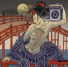 The Amazing Illustrations Of Yuko Shimizu | Septagon Studios Comic Blog: Comic Creation Trends, Resources and News