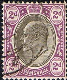 Transvaal 1902 SG 246 King Edward VII Head Fine Used SG 246 Scott 254 Other Commonwealth stamps Here