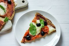 Pizza z kalafiora (bez drożdży) Snapseed, Vegetable Pizza, Sugar Free, Gluten Free, Eggs, Vegetables, Cooking, Food, Glutenfree