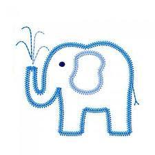elephant applique template - Google Search
