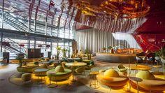 Restaurante NuBel del Reina Sofía de Jean Nouvel  Museo Reina Sofía Jean Nouvel #Madrid #restaurantes #museos