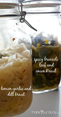 Creative with the Kraut: basic recipe and fun variations for raw, lacto-fermented sauerkraut Fermented Sauerkraut, Sauerkraut Recipes, Basic Recipe, Recipe Using, Probiotic Foods, Fermented Foods, Kombucha, Spicy Broccoli, Pickles