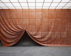 Stage set inspiration for Experience - Ulla von Brandenburg, Pilar Corrias Conception Scénique, Desgin, Fabric Installation, Interactive Installation, Instalation Art, Stage Set, Stage Design, Set Design, Scenic Design