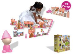 Earth-friendly playsets - my kids LOVE these!
