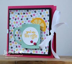 Stampin' Up! - You are Tea-riffic