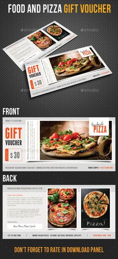 Fashion Gift Voucher Template PSD Fashion Gifts Pinterest - gift voucher template