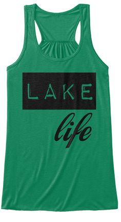 Lake Life Kelly Women's Tank Top Front