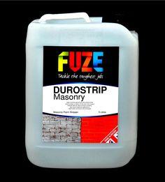 Durostrip Masonry, 5 Litres. Our revolutionary new masonry paint stripper makes light work of all types of masonry paint....... EBAY: http://stores.ebay.co.uk/Fuze-Products/Paint-Stripping-/_i.html?_fsub=11852247018&_sid=143172298&_trksid=p4634.c0.m322 AMAZON: http://www.amazon.co.uk/gp/aag/main?seller=A2C0052U2BURLU&ie=UTF8&marketplaceID=A1F83G8C2ARO7P FUZE SHOP: www.fuze-products.co.uk