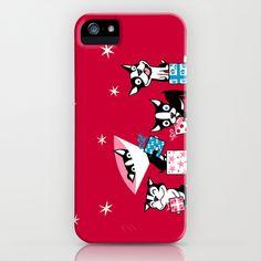 Bostie Holidays iPhone & iPod Case