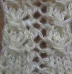 Узор спицами  ВЕРТИКАЛЬНАЯ МЕРЕЖКА. knitting patterns