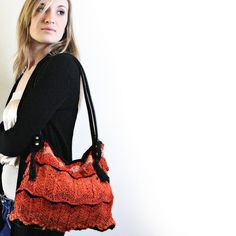 Kit - Flame Carpet Bag - Knitting Kit - Feza Alp Natural