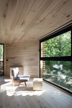 the ORIGIN tree house by atelier LAVIT is a secluded forest retreat