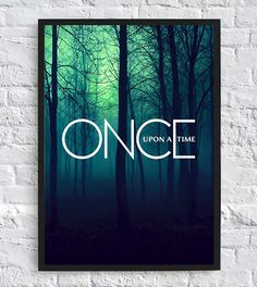 A3 Once Upon A Time Inspired Poster TV by NinaGarratleyArtWork