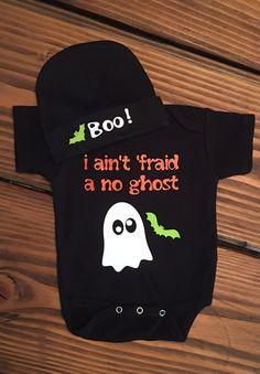 Halloween Onesie / Ghost Onesie/ Ghost Busters /Trick or Treat Onesie/ Ghost…