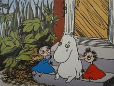 Life's ups AND downs are all part of what makes one Moomin (or human). | 50 Lessons That Moomins Can Teach You About Life