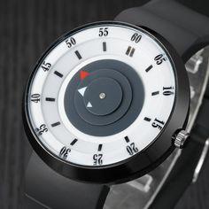 Fashion Men's Luxury Stainless Steel Analog Quartz Sport Wrist Watch