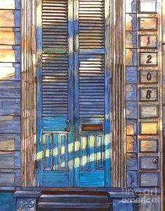 French Quarter House 1208 Painting by John Boles