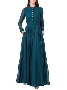 Check out what I found on the LimeRoad Shopping App! You'll love the Solid teal gathered maxi dress. See it here http://www.limeroad.com/products/13210325?utm_source=6c79537446&utm_medium=android