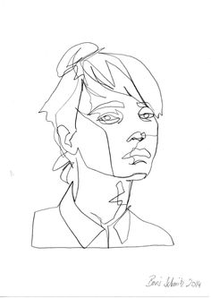 Continuous Line Drawing Tumblr images