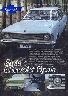 744GM - CHEVROLET - Opala 1969 - 2500 - Sinta o o Chevrolet Opala - 4 cilindrosS - 29x41-