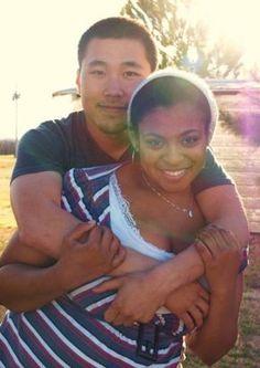 Gorgeous interracial couple #love #ambw #bwam