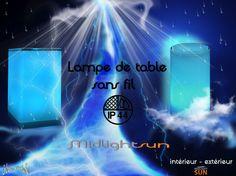MIDLIGHTSUN vous propose une gamme de lampes sans fil intérieur - extérieur IP44  Lampes résistantes aux chocs et étanches pour utilisation intérieure et/ou extérieure.  Une solution d'éclairage qui vous facilite la vie.  http://www.midlightsun.com/lampes-de-table-sans-fil-197-fr.html