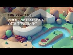 (5) The Practice // 50 / Typographic landscape to celebrate 50 episodes! - YouTube