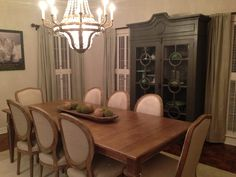 Our Dining Room In Avery Gardens In Jackson, Mississippi. Ethan Allen Avery  Table /