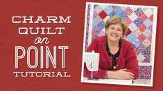 Make a Charm Quilt on Point with Jenny!