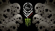 Monster Energy Metal Mulisha By On Deviantart Wallpaper Metal Mulisha, Best Gaming Wallpapers, Hd Phone Wallpapers, Monster Energy, Skull Stencil, Fox Logo, Architecture Tattoo, Wallpaper Pictures, Psychobilly