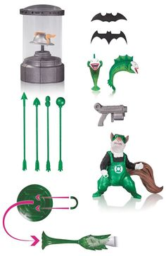 DC Icons Action Figure Accessory Pack Set 1 DC Collectibles New 2016 #DCComics