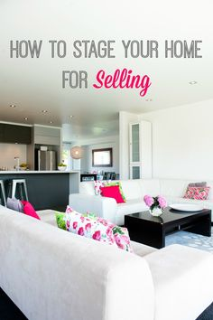 How to stage your home for selling. If you're about to put your house on the market have you done everything you need to do to ensure a fast and efficient sale? #ThisGirlSellsHouses #realestate