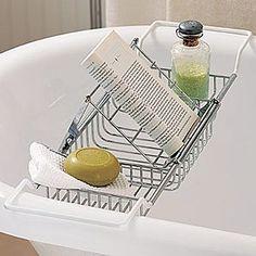 pics of bathtub tray caddy | Bathtub Caddy | Shop home, home_organizing,cleaning| Kaboodle
