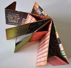 of photos & paper: mini albums