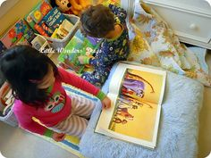 10 Things to make a great kids reading space