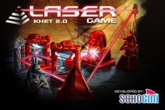 Khet - The Laser Game! iPhone/iPad App developed by Team @Schogini