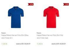 """Kappa: Poloshirts für 7,99 Euro frei Haus https://www.discountfan.de/artikel/klamotten_&_schuhe/kappa-poloshirts-fuer-7-99-euro-frei-haus.php Poloshirts von """"Kappa"""" sind jetzt bei Outlet46″ für kurze Zeit zum Schnäppchenpreis von 7,99 Euro frei Haus zu haben – zur Auswahl stehen sechs verschiedene Modelle in zahlreichen Größen. Kappa: Poloshirts für 7,99 Euro frei Haus (Bild: Outlet46.de) Die Poloshirts von &#82... #Poloshirts"""