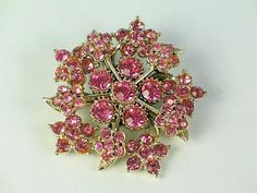 Fashion Jewelry Pins & Brooches H1 Exquisite Bow Brooch Gold Tone Rollover Catch Fastening Faux Pearl Seed Beads