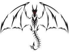 Tatuagens de Dragão Masculinas e Femininas: Fotos de Desenhos
