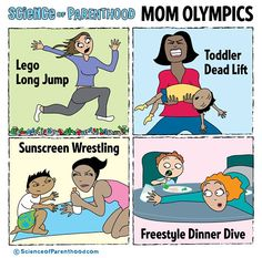 Funny Parenting Cartoons. Check out more here.