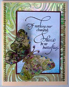 elizabeth craft designs | Elizabeth Craft Designs / Judi Kaufman did this beautiful butterfly ...