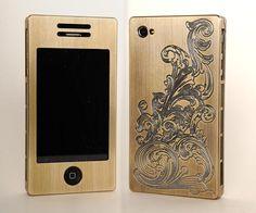 Exovault магазин - Металлические телефон случаях - iPhone 4 металлический корпус - iPhone3G Дело