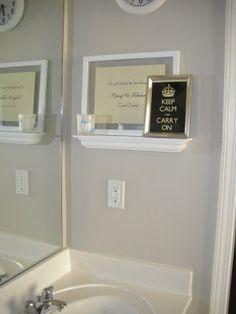 Valspar Oatbran Valspar Paint Colors, Loft Ideas, New Homes, Bathtub, Decor Ideas, Rooms, Bathroom, Wall, Diy