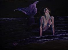 Lorelei 2014 Acrylic on 16x20 canvas $1000.00