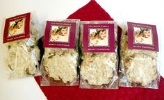 Almond Oatmeal Cookies from evermine blog, evermine.com #homemade #recipe #cookies #christmas #gift #packaging