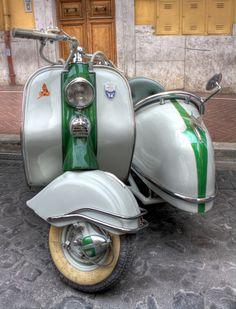 Lambretta-sidecar