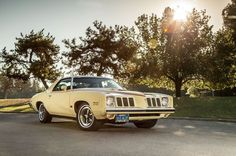 The Pontiac Grand Am found a welcome market with solid first-year sales, but the oil embargo of 1973 undercut the appeal of muscle cars killing the Grand Am in Pontiac Lemans, Pontiac Cars, Pontiac Grand Am, Buick Regal, Us Cars, American Muscle Cars, Le Mans, Exotic Cars, Vintage Cars