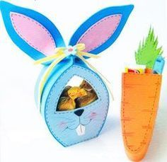 pascuas-en-goma-eva-1 Easter Art, Easter Candy, Easter Crafts, Easter Eggs, Crafts To Do, Diy Crafts, Treat Holder, Easter Baskets, Easy Projects